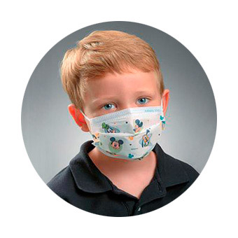 CHILD`S FACE MASK (DISNEY)